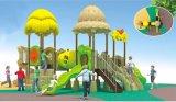 Parque Infantil exterior Série florestais de equipamentos de plástico com marcação para as crianças e as crianças a-014-2)