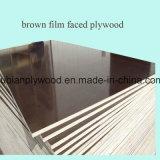 Film stellte Aufbau-Furnierholzshandong-Fertigung Filmfacedplywood gegenüber