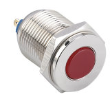 Indicatore luminoso di indicatore impermeabile del metallo LED di Hbgq22-D/J/N 22mm