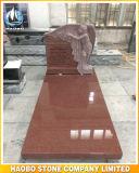 De Grafsteen van het Standbeeld van de engel met Randen