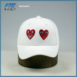 Бейсбольная кепка логоса вышивки белой панели хлопка 6 изготовленный на заказ