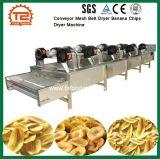 Frucht-Förderanlagen-Ineinander greifen-Riemen-Trockner-Banane bricht Luft-Trockner-Maschine ab