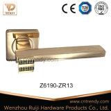 로즈 금 색깔 다이아몬드 아연 합금 문 레버 손잡이 (Z6197-ZR13)