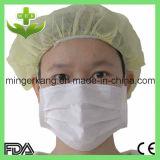 Maschera di protezione protettiva bianca pp non tessuta