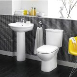 Qualität New Style Bathroom Sanitary Wares mit Bidet und Wand-Hung Toilet