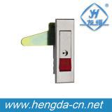 Замок плоскости кнопка Yh9592 для шкафа металла