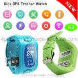 GPRS Sos 단추 H3를 가진 실시간 위치 GPS 추적자 시계 전화