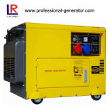 generador diesel silencioso 6.5kVA todo el cobre