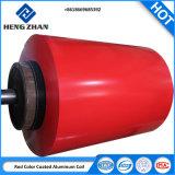 PVDF 1060 3003 Revêtement de couleur pré-peint pour la construction de la bobine en aluminium