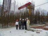 De hydraulische zelf-Beklimt van de Cilinder van het Opkrikken Concrete Plaatsende Boom van de Toren