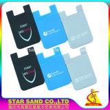 지능적인 이동할 수 있는 지갑, 실리콘 셀룰라 전화 신용 카드 홀더를 승진시키십시오