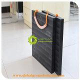 De zwarte Gemalen Stootkussens van de Kraanbalk van de Kraan van de Kleur UHMWPE/beschermen de Matten van de Kraan/de Mobiele Matten van de Weg