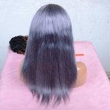Brillamment colorés perruque de cheveux avant vierges indiennes de la Dentelle Ombre couleur