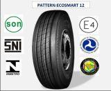Tous les pneus radiaux en acier de camion et de bus avec le certificat 275/70r22.5 (ECOSMART 12) de CEE