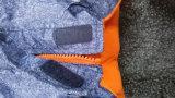 Свет - голубые с капюшоном отражательные водоустойчивые комбинезоны для младенца/детей