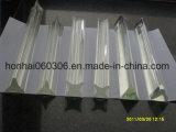Freie Pyrex Glas-Profil-Rohrleitung, Rod
