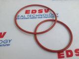 De rode /O-ring van de O-ring van het Silicone Rubber