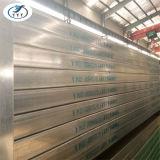 Rectangular de China Tubo de acero galvanizado con las especificaciones
