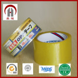 Cinta de acrílico de la cinta del embalaje de la adherencia BOPP de la alta calidad