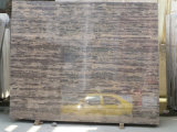 Мрамор темного Brown для мрамора пляжа сбывания золотистого