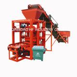 Machine de fabrication de brique automatique de machine de moulage du bloc Qt4-26 pour le Bangladesh