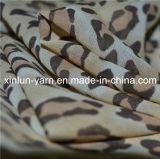 Leopard напечатано Мягкая Sexy шифон ткань для леди