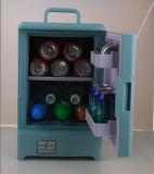 Elektronischer Minikühlraum 15liter DC12V, AC100-240V mit dem Abkühlen und der Erwärmung für Auto, Büro, Ausgangsgebrauch