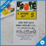 Bonitinha a impressão de etiquetas para lavar roupas de criança