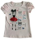 Printingsgt-079の子供の子供のTシャツの方法フラワー・ガールの赤ん坊の衣服