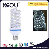 B22 E27 3W 5W 7W 9W 12W спираль светодиодная лампа