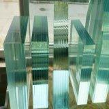 3-12mm des bords polis plat en verre trempé clair