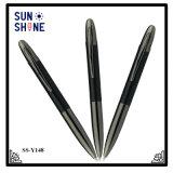 Шикарный шариковой ручки волокна углерода действия закрутки пер металла