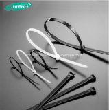 Serre-câble matériel d'acier inoxydable de serre-câble de nylon en plastique en nylon du serre-câble 100%