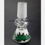 De Pijp van het gebrandschilderd glas van Mannetje schrobt 14.5mm, 18.8mm de Montage van de Pijp