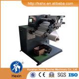 Hx-320fq en blanco de la etiqueta autoadhesiva de rebobinado de corte longitudinal la máquina