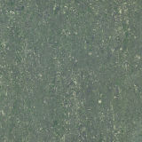 Telha de assoalho do carregamento do dobro da cor verde