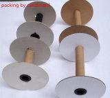 Geschenk, das doppeltes oder einfaches seitliches Satin-Farbband-Band verpackt