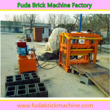 Petit moteur diesel stationnaire de béton Powered machine à briques hydraulique