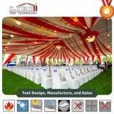 Una tenda delle 30 x 60 tende foranee per 1000 genti con il rivestimento e la tenda del tetto