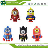 Barato 2.0 Aranha USB Bat Man Superman Unidade Flash USB