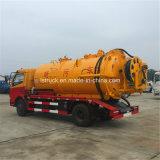 Dongfeng 4X2 5000L Vakuumabwasser-Absaugung-Tanker-LKW