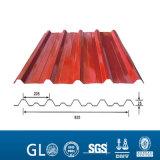 28 Anzeigeinstrument galvanisiertes gewölbtes Zink-Stahldach-Blatt für Dach-Preis