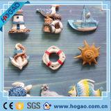 Decoratie van de Koelkast van de Dieren van de Magneet van de Koelkast van Polyresin de Verschillende