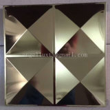 Material do painel decorativo do novo interior Folha gravada em aço inoxidável com muitos padrões
