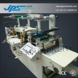 Etiqueta de tecido estreito Die máquina de corte com função de perfuração