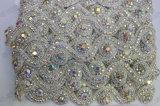 Утески Applique ясности уравновешивания Rhinestone декоративным кристаллический отбортованные серебром низкопробные
