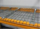 Plataforma durável soldada do engranzamento do Decking/do engranzamento de fio para cremalheiras da pálete do armazém