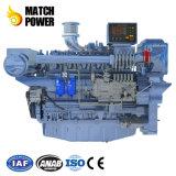 Weichai wd10 / WD12 / Wp12 /Wp13 serie motor diesel marino (140kw - 550kw).