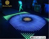 Etapa, Efecto de iluminación LED RGB P10 en la pista de baile de video para bodas discoteca