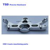 4 axes en acier inoxydable d'usinage CNC/pièces de précision en aluminium, parties de bicyclettes, source d'usine de fabrication CNC, Scooter de pièces, des pièces automobiles